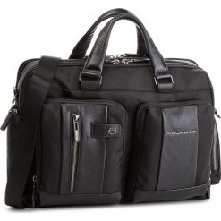 Torba na laptopa PIQUADRO - CA4441BR/N Czarny. Czarne torby na laptopa damskie Piquadro, z materiału. W wyprzedaży za 1,049.00 zł.