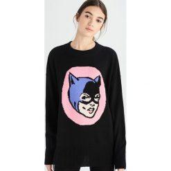 Sweter Catwoman - Czarny. Czarne swetry damskie Sinsay. Za 59.99 zł.