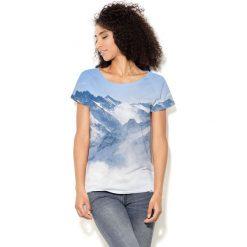Colour Pleasure Koszulka CP-034 53 niebiesko-biała r. XL-XXL. Bluzki damskie Colour Pleasure. Za 70.35 zł.