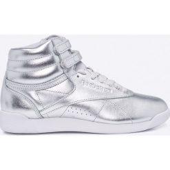 Reebok Classic - Buty F/S Hi Metallic. Szare obuwie sportowe damskie Reebok Classic, z gumy. W wyprzedaży za 249.90 zł.