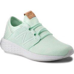 Buty NEW BALANCE - WCRUZKM2 Zielony. Zielone obuwie sportowe damskie New Balance, z materiału. W wyprzedaży za 269.00 zł.