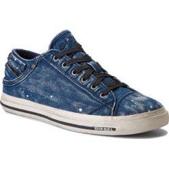 Tenisówki DIESEL - Exposure Low I Y00321-P1655-T6067 Indigo. Niebieskie trampki męskie Diesel, z gumy. W wyprzedaży za 379.00 zł.