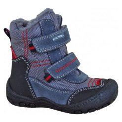 Protetika Buty Zimowe Za Kostkę Chłopięce Rolo 24 Szary/Niebieski. Niebieskie buty zimowe chłopięce Protetika, z futra. Za 175.00 zł.