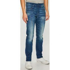G-Star Raw - Jeansy 3301. Niebieskie jeansy męskie G-Star Raw. Za 469.90 zł.
