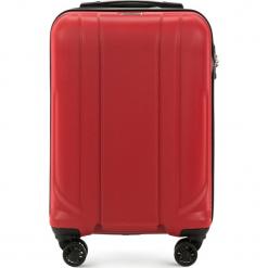 Walizka kabinowa 56-3P-861-30. Brązowe walizki damskie Wittchen, z gumy. Za 179.00 zł.