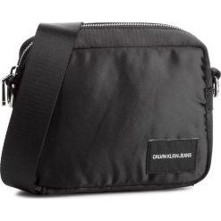 Torebka CALVIN KLEIN JEANS - Satin Camera Bag K40K400820 001. Czarne listonoszki damskie Calvin Klein Jeans, z jeansu. Za 279.00 zł.