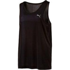 Puma Koszulka Sportowa Evoknit Tank W Black Xs. Czarne koszulki sportowe damskie Puma, ze skóry, z dekoltem na plecach. W wyprzedaży za 65.00 zł.