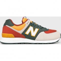 New Balance - Buty ML574IND. Szare buty sportowe męskie New Balance, z materiału. Za 349.90 zł.