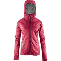 Kurtka narciarska w kolorze malinowym. Czerwone kurtki damskie Outhorn. W wyprzedaży za 134.95 zł.