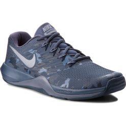 Buty NIKE - Lunar Prime Iron II 908969 401 Thunder Blue/Mtlc Cool Grey. Buty sportowe męskie Nike, z materiału, na fitness i siłownię. W wyprzedaży za 249.00 zł.