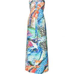 Długa sukienka bonprix niebieski. Sukienki damskie marki MAKE ME BIO. Za 149.99 zł.
