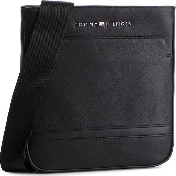 e29a08a7cf978 Saszetka TOMMY HILFIGER - Business Leather Mini Crossover AM0AM04433 ...