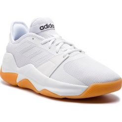 Buty adidas - Streetflow F36738 Ftwwht/Ftwwht/Cblack. Białe buty sportowe męskie Adidas, z materiału. Za 299.00 zł.