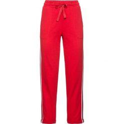 Spodnie dresowe bonprix truskawkowy. Spodnie dresowe damskie marki bonprix. Za 109.99 zł.