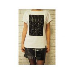 T-shirt 3D(lux) BigPanel - biały. Białe t-shirty damskie Desert snow, z bawełny. Za 89.00 zł.