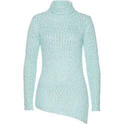 Sweter bonprix pastelowy miętowy - srebrny. Swetry damskie marki KALENJI. Za 99.99 zł.