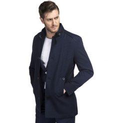 Płaszcz FLORIANO PSGS000071. Czerwone płaszcze męskie Giacomo Conti, z bawełny, wizytowe. Za 799.00 zł.