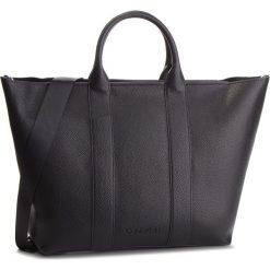 Torebka CALVIN KLEIN - Race Ew Shopper K60K604838 001. Czarne torebki shopper damskie Calvin Klein, ze skóry ekologicznej. Za 749.00 zł.
