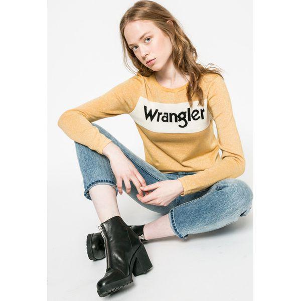 07dd162486 Wrangler - Sweter - Swetry damskie marki Wrangler. W wyprzedaży za ...