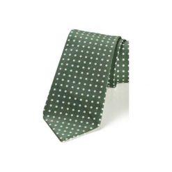 Krawat męski REUS bordo kropki. Czerwone krawaty i muchy Hisoutfit, w kropki, z materiału. Za 129.00 zł.