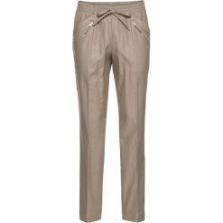 Spodnie wsuwane bonprix brunatny. Spodnie materiałowe damskie marki DOMYOS. Za 44.99 zł.