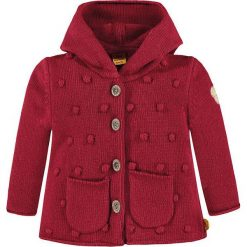 Kardigan w kolorze czerwonym. Swetry dla dziewczynek marki bonprix. W wyprzedaży za 197.95 zł.