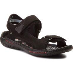 Sandały NIK - 06-0139-23-7-01-03 Czarny. Czarne sandały męskie Nik, z materiału. W wyprzedaży za 159.00 zł.