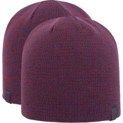 Czapka męska CAM256Z - bordowo-granatowy melanż. Czerwone czapki i kapelusze męskie 4f. W wyprzedaży za 22.99 zł.