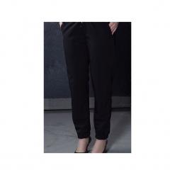 Spodnie LOOSE&ZIP BLACK. Czarne spodnie materiałowe damskie True color by ann, z tkaniny. Za 299.00 zł.