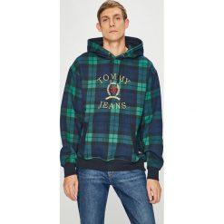 Tommy Jeans - Bluza. Szare bluzy męskie Tommy Jeans, z aplikacjami, z bawełny. Za 649.90 zł.
