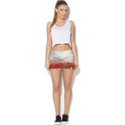 Colour Pleasure Spodnie damskie CP-020 55 beżowo-zielono-czerwone r. XL-XXL. Spodnie dresowe damskie Colour Pleasure. Za 72.34 zł.
