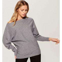 Sweter typu kimono - Szary. Szare swetry damskie Mohito. Za 79.99 zł.