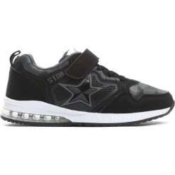 Czarne Buty Sportowe Fast car. Czarne buty sportowe chłopięce Born2be, z materiału. Za 59.99 zł.