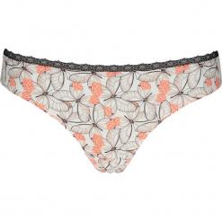 """Stringi """"Sina"""" w kolorze brzoskwiniowo-kremowym. Stringi damskie marki bonprix. W wyprzedaży za 43.95 zł."""
