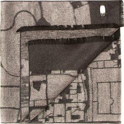 Szal męski 85-7M-S41-X2. Szare szaliki męskie marki Giacomo Conti, na zimę, z tkaniny. Za 219.00 zł.