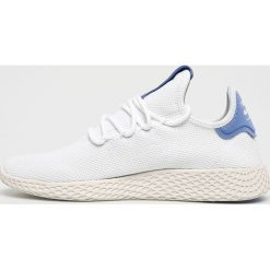 Adidas Originals - Buty Pw Tennis Hu. Szare obuwie sportowe damskie adidas Originals, z materiału. W wyprzedaży za 349.90 zł.