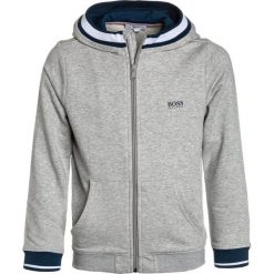 BOSS Kidswear JOGGING  Bluza rozpinana hell graumeliert. Bluzy dla chłopców BOSS Kidswear, z bawełny. Za 399.00 zł.