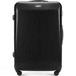 Walizka duża 56-3P-973-10. Czarne walizki damskie Wittchen, z gumy. Za 219.00 zł.