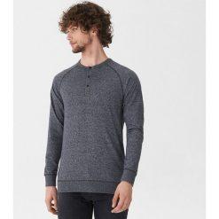 Koszulka z długim rękawem - Granatowy. Niebieskie bluzki z długim rękawem męskie House. Za 69.99 zł.