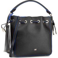 Torebka CAVALLI CLASS - City Diva C73PWCNY0032B16  Black/Blue B16. Czarne torebki do ręki damskie Cavalli Class, ze skóry ekologicznej. W wyprzedaży za 549.00 zł.