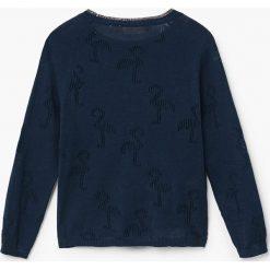 Mango Kids - Sweter dziecięcy Flamingo 110-164 cm. Swetry damskie marki bonprix. Za 89.90 zł.