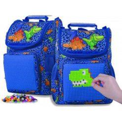 Pixie Crew Plecak Szkolny Dino. Niebieskie torby i plecaki dziecięce Pixie Crew. Za 198.00 zł.