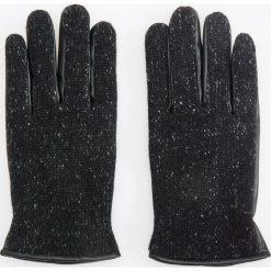 Rękawiczki z wełną - Czarny. Rękawiczki męskie marki FOUGANZA. W wyprzedaży za 49.99 zł.