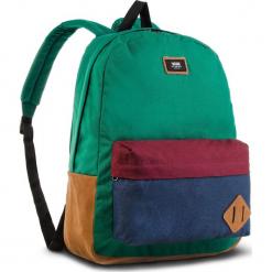 Plecak VANS - Old Skool II Ba VN000ONIWUP Evergreen/Dress Blues. Zielone plecaki damskie Vans, z materiału, sportowe. W wyprzedaży za 129.00 zł.