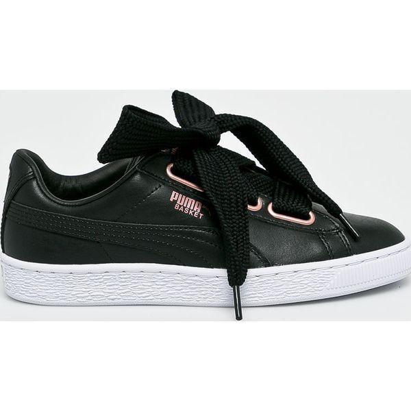Puma Buty Basket Fierce Czarne obuwie sportowe damskie