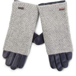 Rękawiczki Damskie WITTCHEN - 39-6-563-GC Granatowy. Rękawiczki damskie marki B'TWIN. Za 249.00 zł.