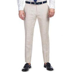 Spodnie LEONARDO SLIM GDES900096. Eleganckie spodnie męskie marki Pulp. Za 399.00 zł.