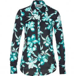 Bluzka z nadrukiem bonprix czarno-zielony oceaniczny z nadrukiem. Czarne bluzki damskie bonprix, z nadrukiem, z długim rękawem. Za 74.99 zł.