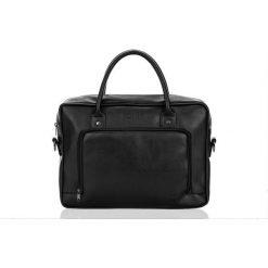 Torba Solier Męska torba na laptopa Solier TYSON czarna. Torby na laptopa męskie marki Piquadro. Za 195.06 zł.