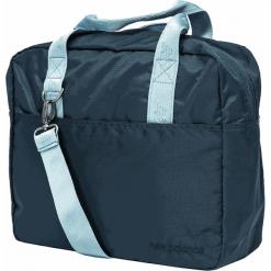 New Balance 500334-480. Szare torby na laptopa męskie New Balance, w paski, z materiału. Za 199.99 zł.